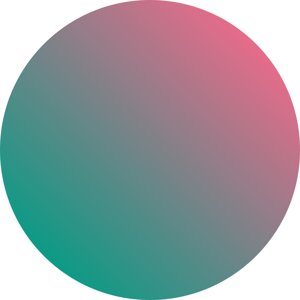 big ol circle with a gradient in it